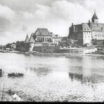Foto der Ordensburg aus den 30er Jahren
